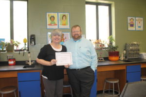 May teacher of the Month 2